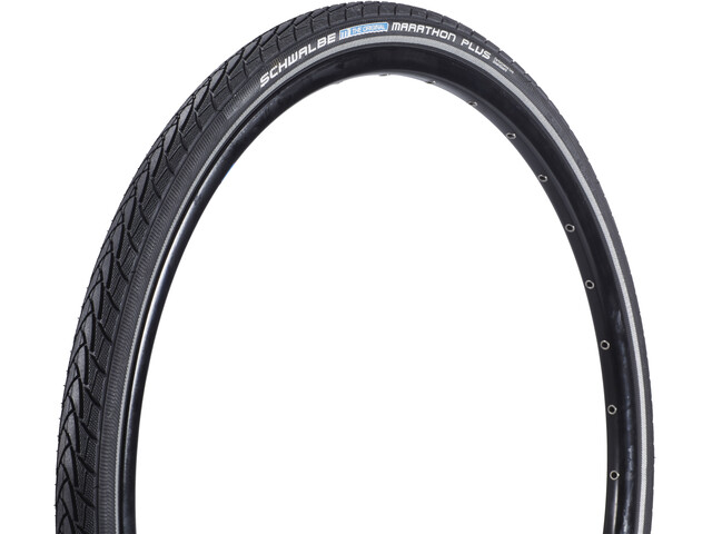 "SCHWALBE Marathon Plus Pneu Performance 26"" rigide, black-reflex"